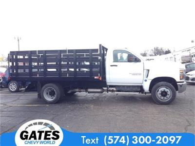 2019 Silverado 4500 Regular Cab DRW 4x2, Stake Bed #M6214 - photo 5
