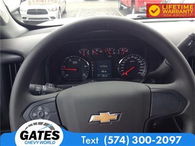 2019 Chevrolet Silverado 4500 Regular Cab DRW 4x2, Monroe Work-A-Hauler II Stake Bed #M6214 - photo 11