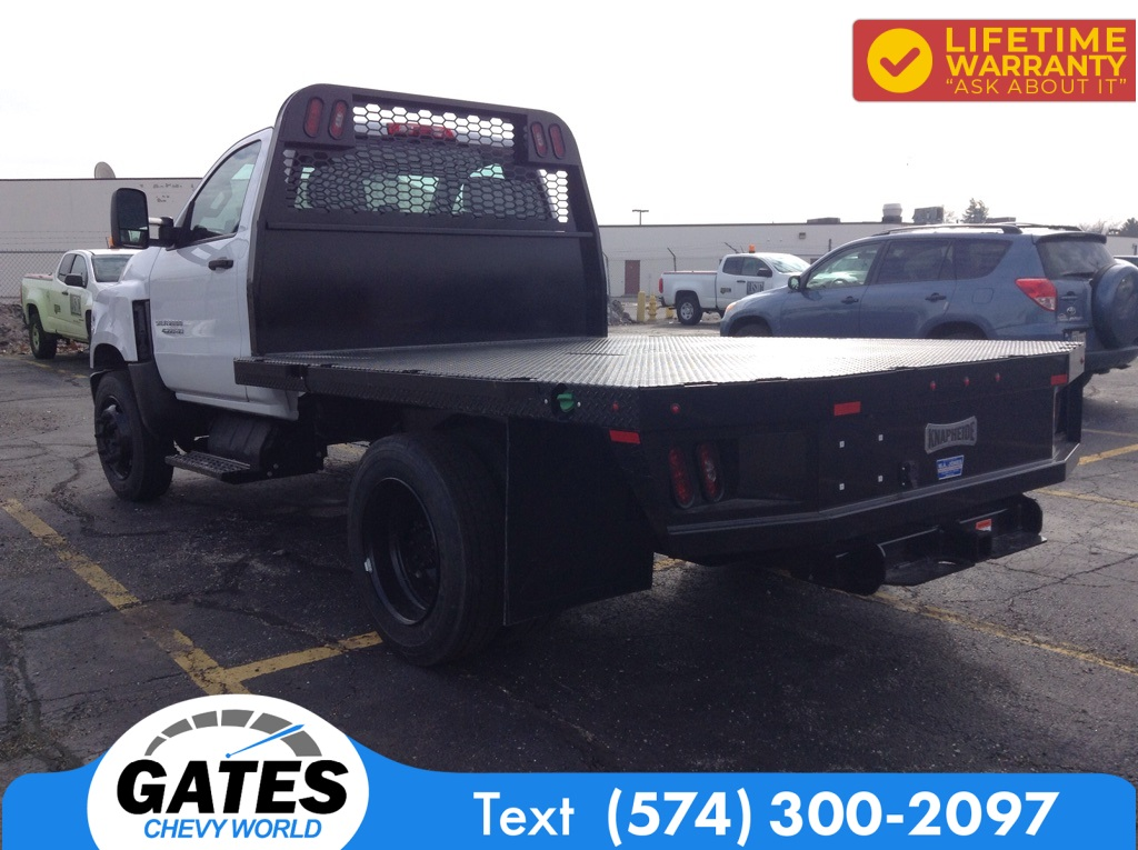 2020 Chevrolet Silverado 4500 Regular Cab DRW 4x2, Knapheide Platform Body #M6299 - photo 1