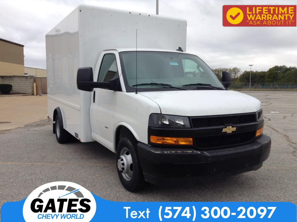 2020 Chevrolet Express 3500 4x2, Hackney Cutaway Van #M6741 - photo 3