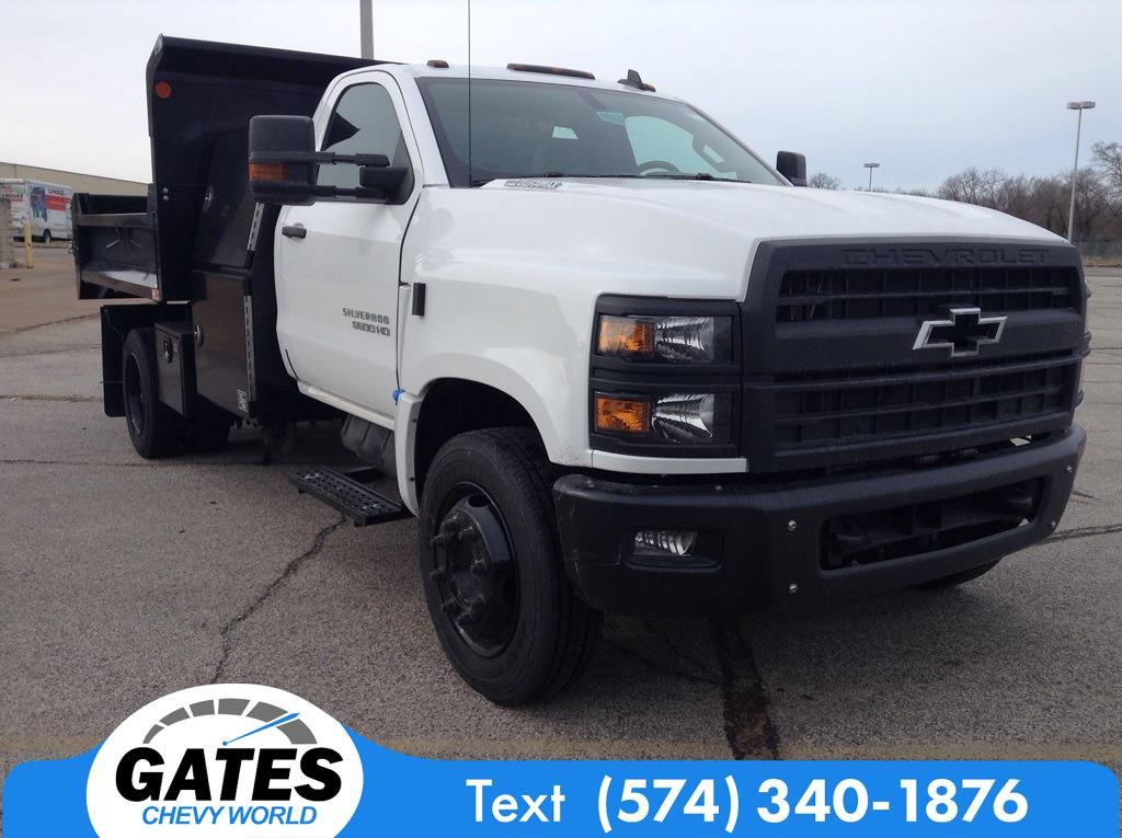 2020 Silverado 4500 Regular Cab DRW 4x2,  Monroe Truck Equipment MTE-Zee Dump Body #M6803 - photo 3