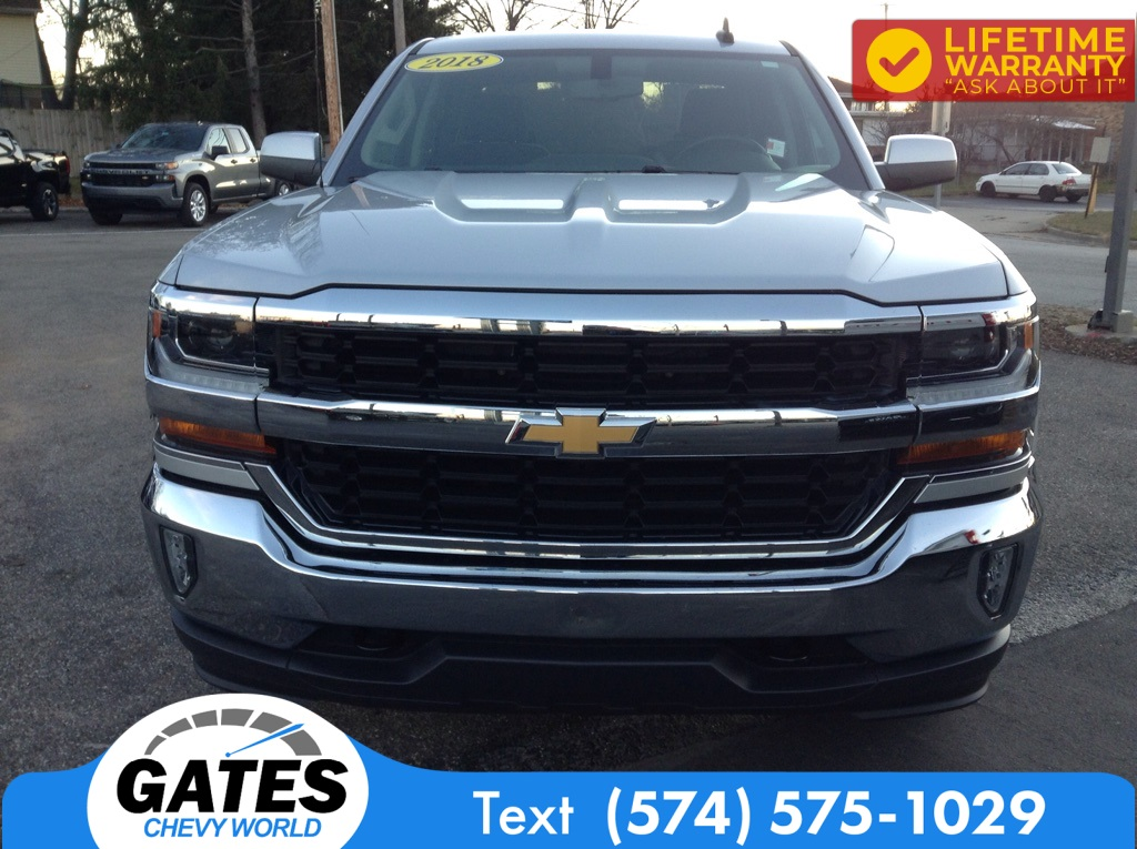 2018 Chevrolet Silverado 1500 Double Cab 4x4, Pickup #M6850A - photo 4