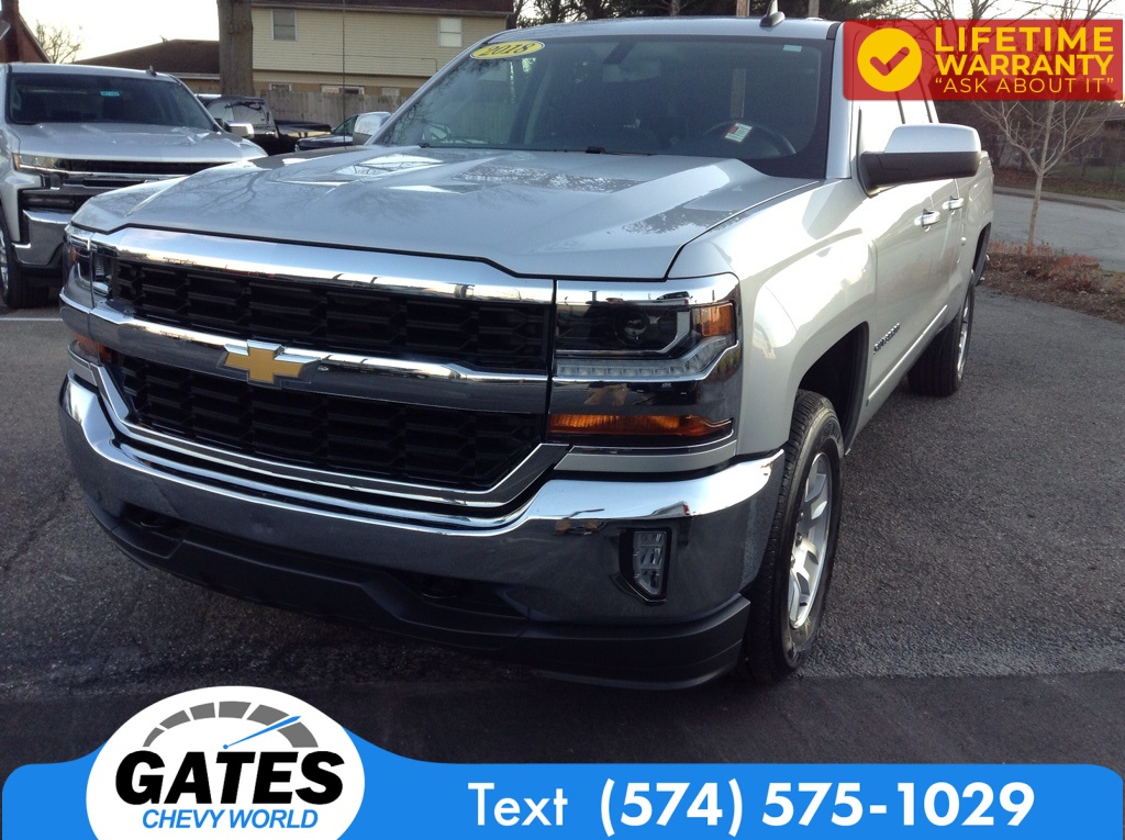 2018 Chevrolet Silverado 1500 Double Cab 4x4, Pickup #M6850A - photo 1