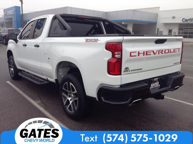2019 Chevrolet Silverado 1500 Double Cab 4x4, Pickup #M6914A - photo 2
