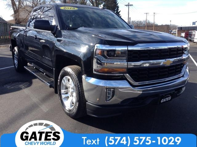 2018 Chevrolet Silverado 1500 Double Cab 4x4, Pickup #M6927B - photo 3