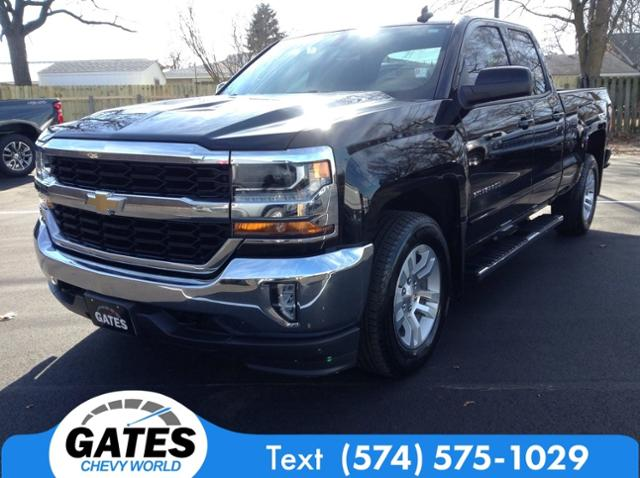 2018 Chevrolet Silverado 1500 Double Cab 4x4, Pickup #M6927B - photo 1