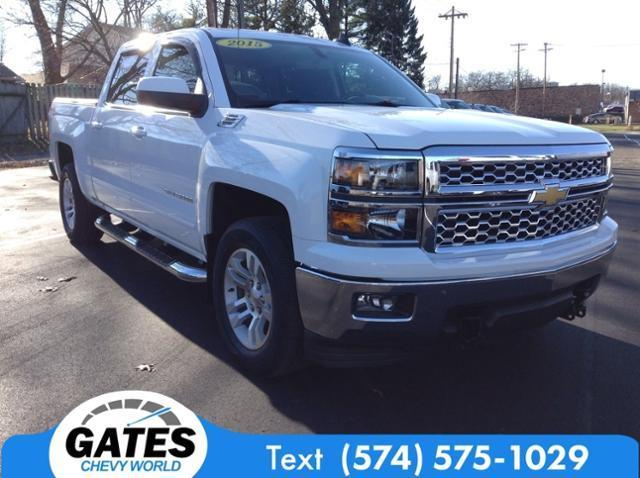2015 Chevrolet Silverado 1500 Crew Cab 4x4, Pickup #M7001A - photo 3