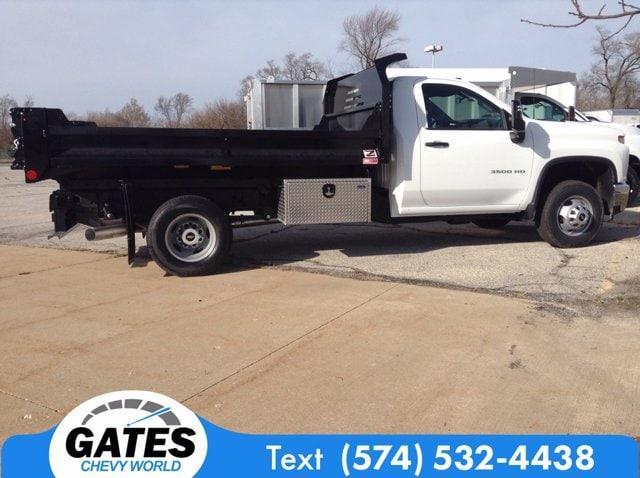 2020 Chevrolet Silverado 3500 Regular Cab DRW 4x4, Dump Body #M7026 - photo 5