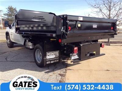 2020 Chevrolet Silverado 3500 Regular Cab DRW 4x4, Dump Body #M7026 - photo 2