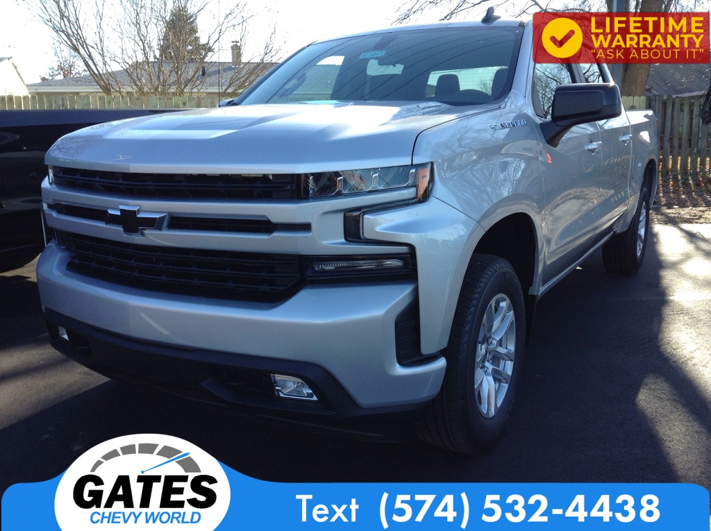 2021 Chevrolet Silverado 1500 Crew Cab 4x4, Pickup #M7045 - photo 1