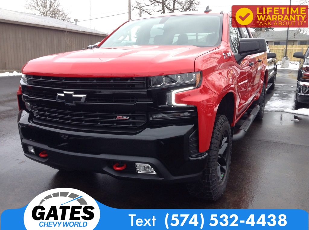 2021 Chevrolet Silverado 1500 Crew Cab 4x4, Pickup #M7108 - photo 1