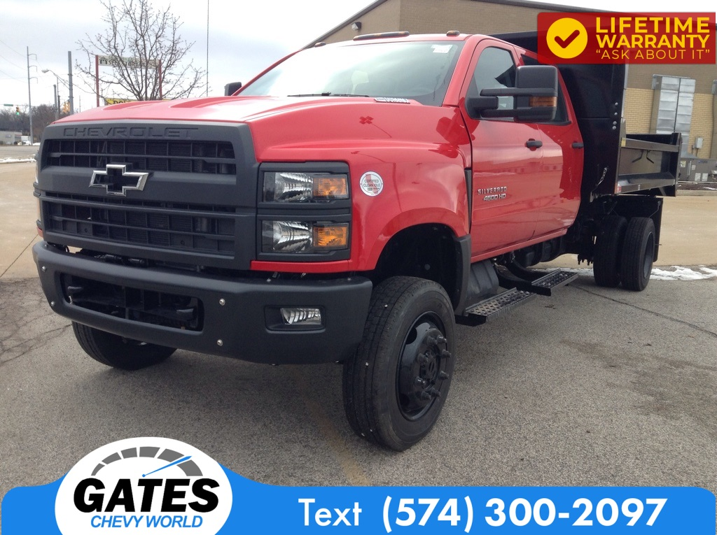 2020 Chevrolet Silverado 4500 Crew Cab DRW 4x4, Monroe Dump Body #M7113 - photo 1
