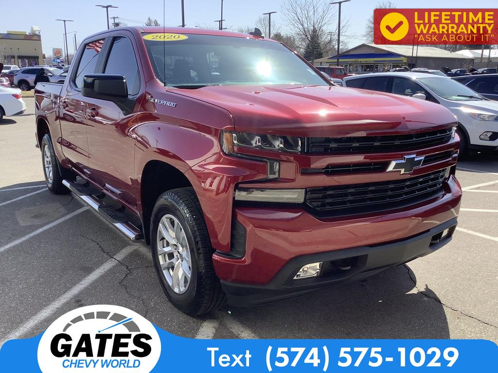 2020 Chevrolet Silverado 1500 Crew Cab 4x4, Pickup #M7159A - photo 3