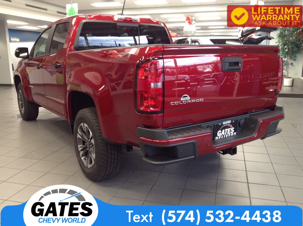 2021 Chevrolet Colorado Crew Cab 4x4, Pickup #M7181 - photo 1