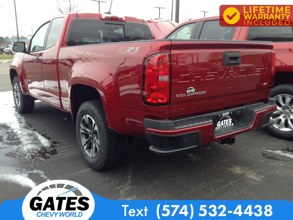 2021 Chevrolet Colorado Extended Cab 4x4, Pickup #M7231 - photo 1