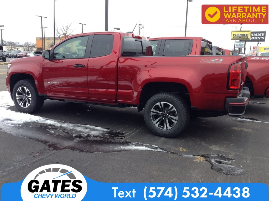 2021 Chevrolet Colorado Extended Cab 4x4, Pickup #M7231 - photo 5