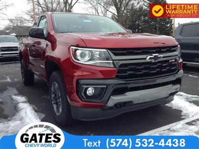 2021 Chevrolet Colorado Extended Cab 4x4, Pickup #M7231 - photo 3