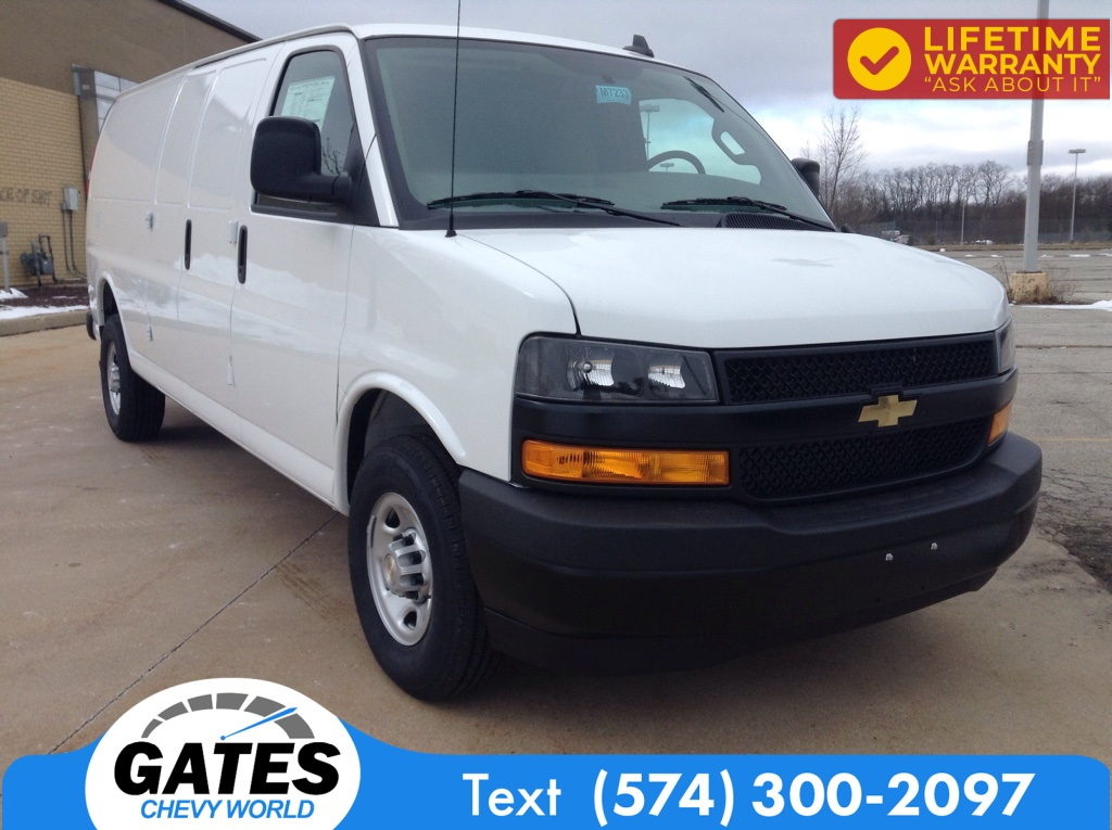 2021 Chevrolet Express 2500 4x2, Empty Cargo Van #M7233 - photo 3