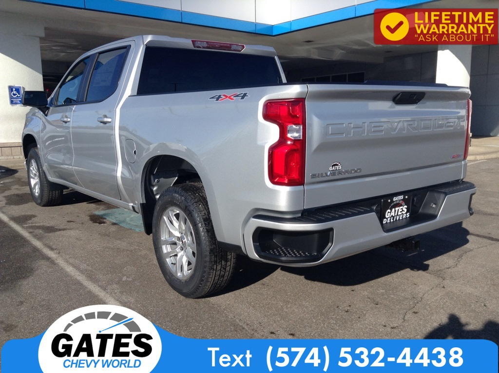 2021 Chevrolet Silverado 1500 Crew Cab 4x4, Pickup #M7289 - photo 1