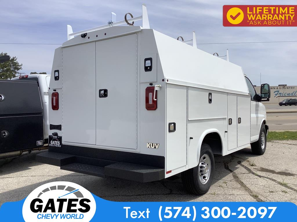 2021 Chevrolet Express 3500 4x2, Service Utility Van #M7507 - photo 1