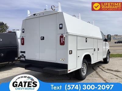 2021 Chevrolet Express 3500 4x2, Service Utility Van #M7507 - photo 2