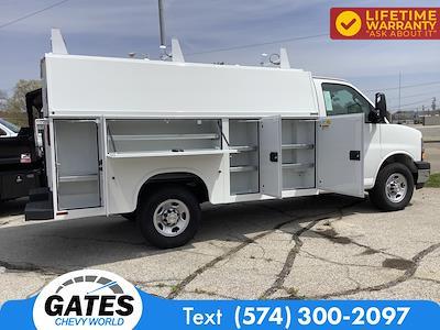 2021 Chevrolet Express 3500 4x2, Service Utility Van #M7507 - photo 9
