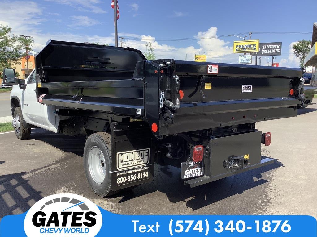2021 Silverado 3500 Regular Cab 4x4,  Monroe Truck Equipment MTE-Zee Dump Body #M7611 - photo 6