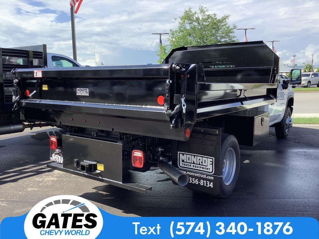 2021 Silverado 3500 Regular Cab 4x4,  Monroe Truck Equipment MTE-Zee Dump Body #M7611 - photo 2