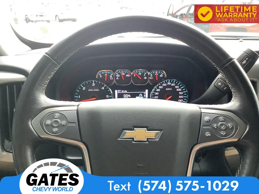 2018 Chevrolet Silverado 1500 Crew Cab 4x4, Pickup #M7637A - photo 13