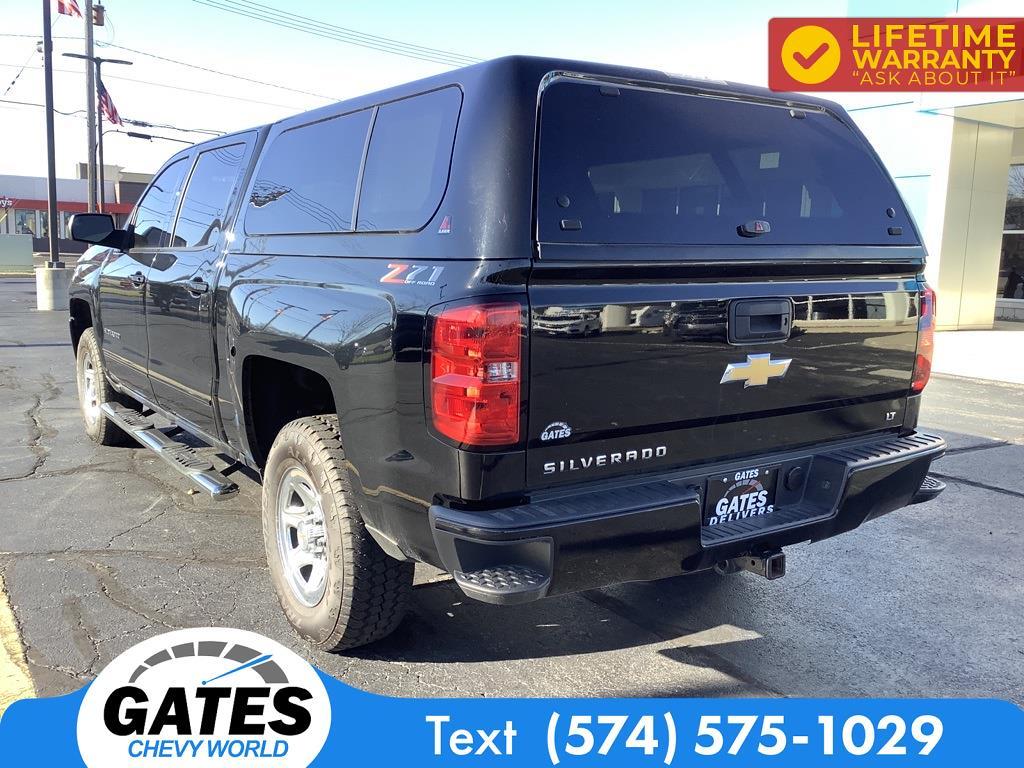 2018 Chevrolet Silverado 1500 Crew Cab 4x4, Pickup #M7637A - photo 10