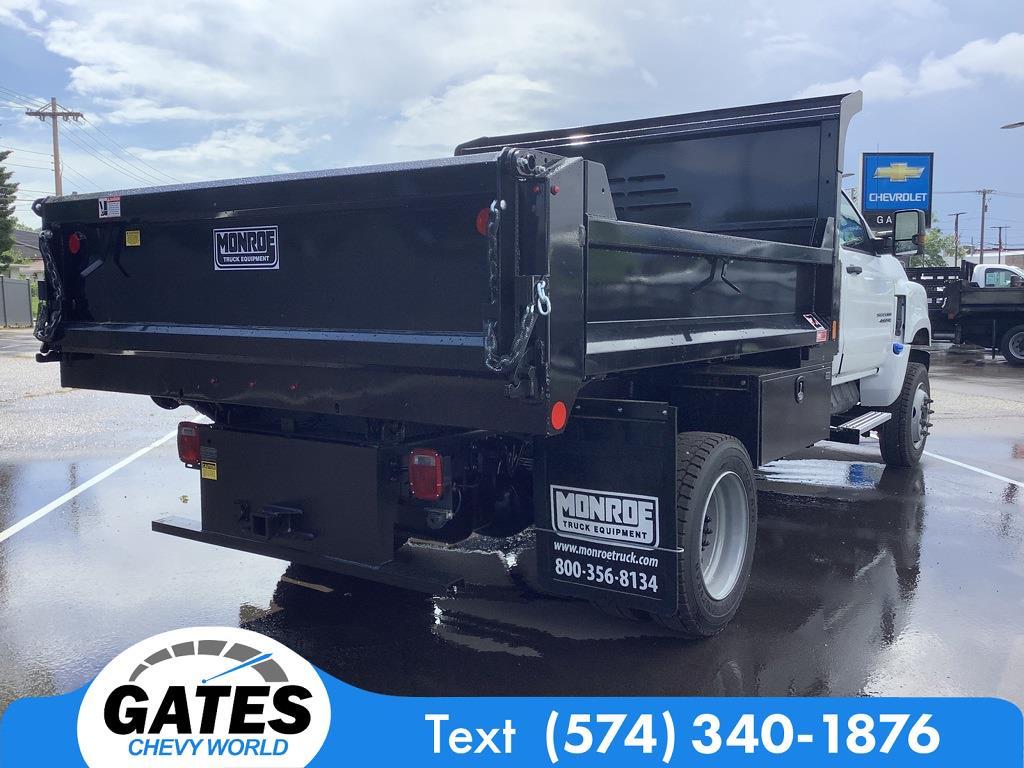 2021 Silverado 4500 Regular Cab DRW 4x4,  Monroe Truck Equipment MTE-Zee Dump Body #M7657 - photo 2