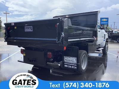 2021 Chevrolet Silverado 4500 Regular Cab DRW 4x4, Monroe MTE-Zee Dump Body #M7657 - photo 2