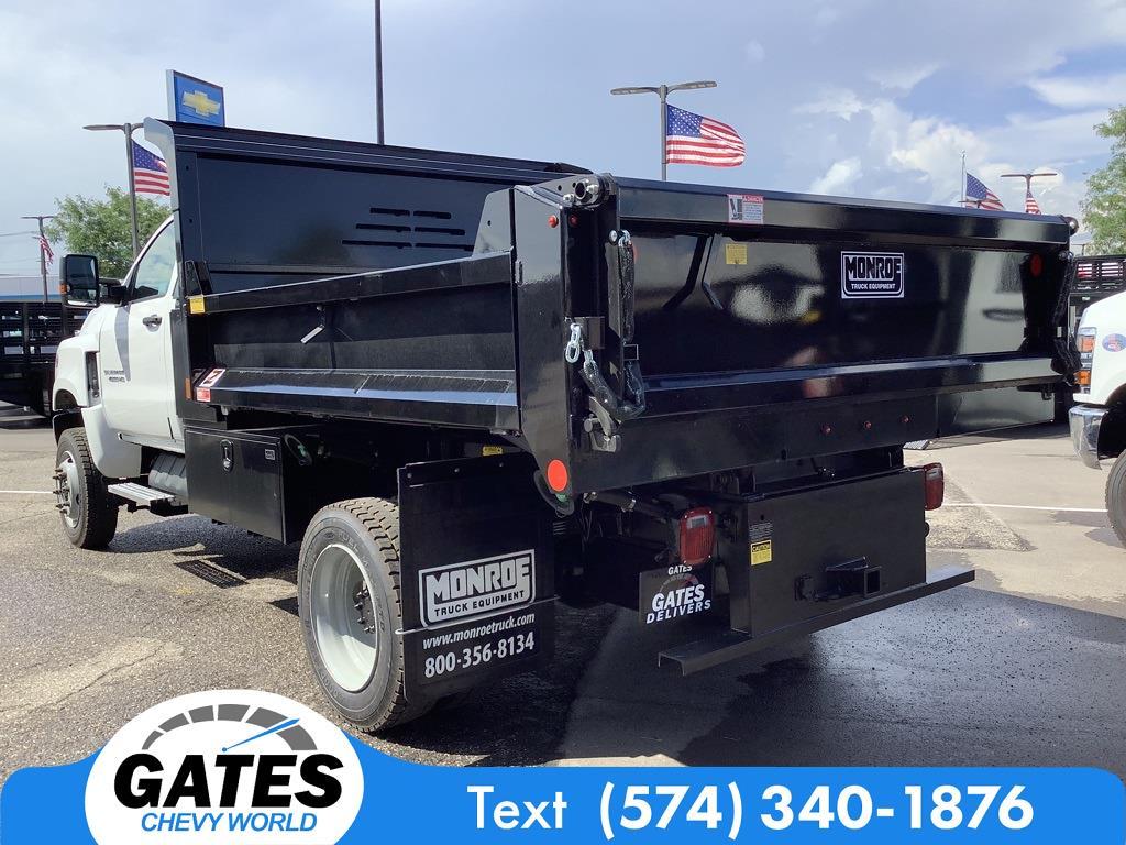 2021 Chevrolet Silverado 4500 Regular Cab DRW 4x4, Monroe MTE-Zee Dump Body #M7658 - photo 6