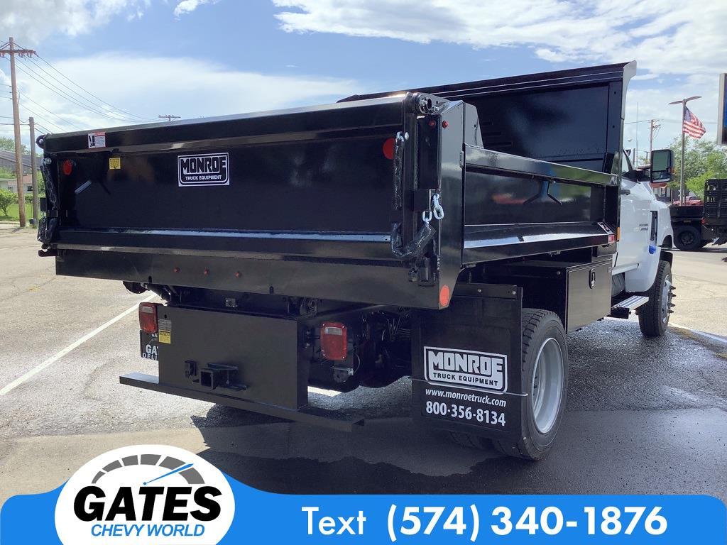 2021 Chevrolet Silverado 4500 Regular Cab DRW 4x4, Monroe Dump Body #M7658 - photo 1