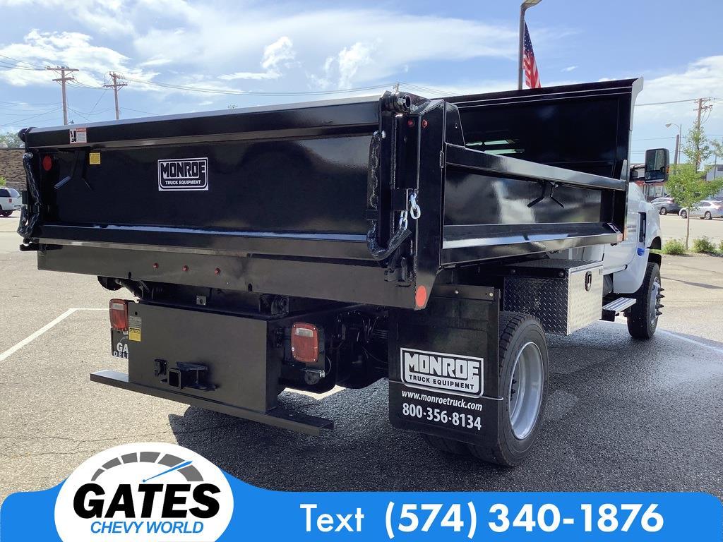 2021 Chevrolet Silverado 4500 Regular Cab DRW 4x4, Monroe Dump Body #M7659 - photo 1