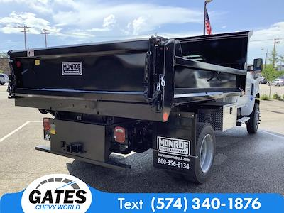 2021 Chevrolet Silverado 4500 Regular Cab DRW 4x4, Monroe MTE-Zee Dump Body #M7659 - photo 2