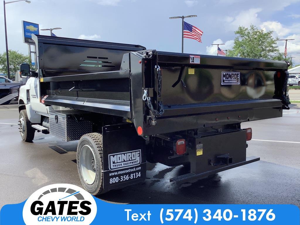 2021 Silverado 4500 Regular Cab DRW 4x4,  Monroe Truck Equipment MTE-Zee Dump Body #M7660 - photo 6