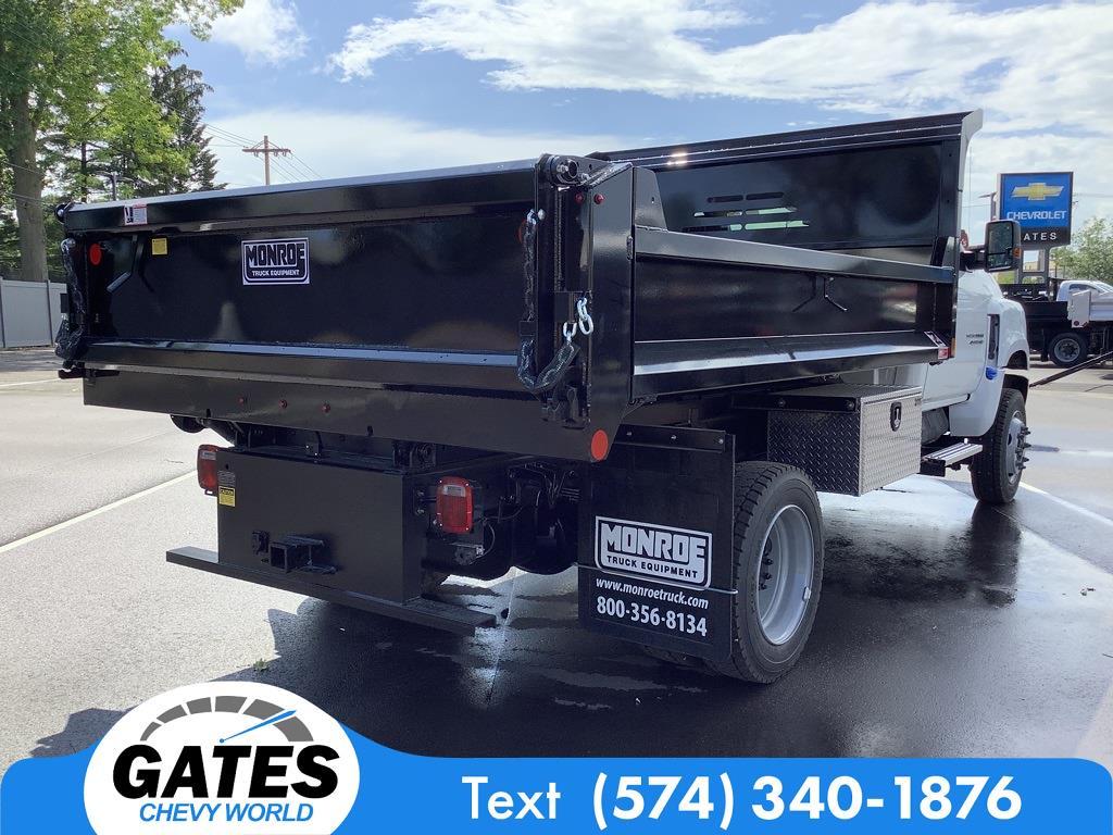 2021 Chevrolet Silverado 4500 Regular Cab DRW 4x4, Monroe Dump Body #M7660 - photo 1