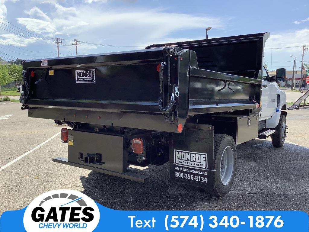2021 Silverado 4500 Regular Cab DRW 4x4,  Monroe Truck Equipment MTE-Zee Dump Body #M7662 - photo 2