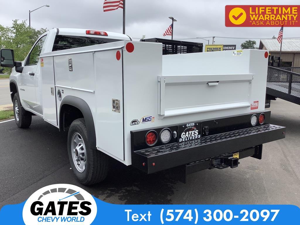 2021 Chevrolet Silverado 2500 Regular Cab 4x4, Monroe Service Body #M7692 - photo 6