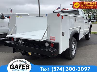 2021 Chevrolet Silverado 2500 Regular Cab 4x4, Monroe Service Body #M7692 - photo 2