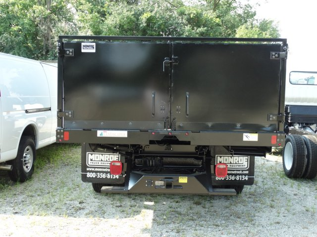 2018 Silverado 3500 Regular Cab DRW 4x2,  Monroe Poly Landscape Dump #65679 - photo 6