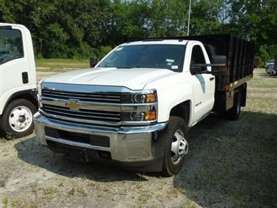 2018 Silverado 3500 Regular Cab DRW 4x2,  Monroe Poly Landscape Dump #65679 - photo 3