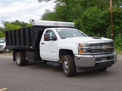2018 Silverado 3500 Regular Cab DRW 4x4,  Monroe Poly Landscape Dump #65681 - photo 5