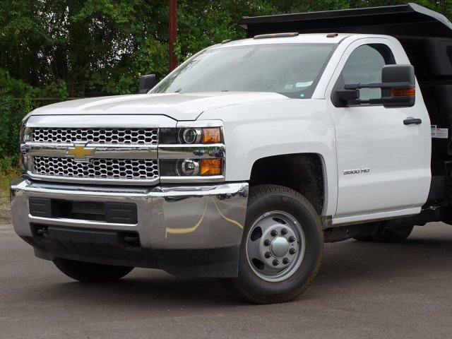 2019 Silverado 3500 Regular Cab DRW 4x4,  Monroe Dump Body #66126 - photo 3