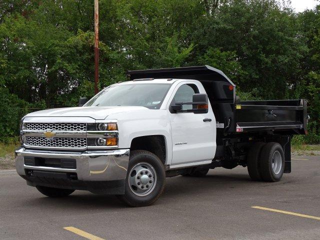 2019 Silverado 3500 Regular Cab DRW 4x4,  Monroe Dump Body #66127 - photo 1