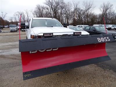 2019 Silverado 2500 Double Cab 4x4,  BOSS Snowplow Pickup #66148 - photo 5