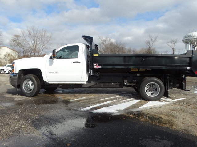 2019 Silverado 3500 Regular Cab DRW 4x4,  Monroe MTE-Zee Dump Body #66171 - photo 3