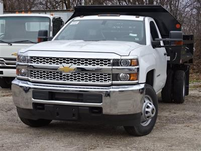 2019 Silverado 3500 Regular Cab DRW 4x4,  Monroe MTE-Zee Dump Body #66171 - photo 8