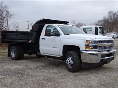 2019 Silverado 3500 Regular Cab DRW 4x4,  Monroe MTE-Zee Dump Body #66171 - photo 9